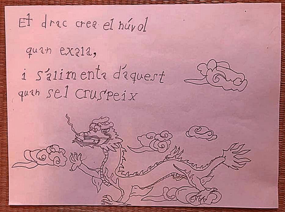 Quan el drac exhala, Sant Jordi cavalca