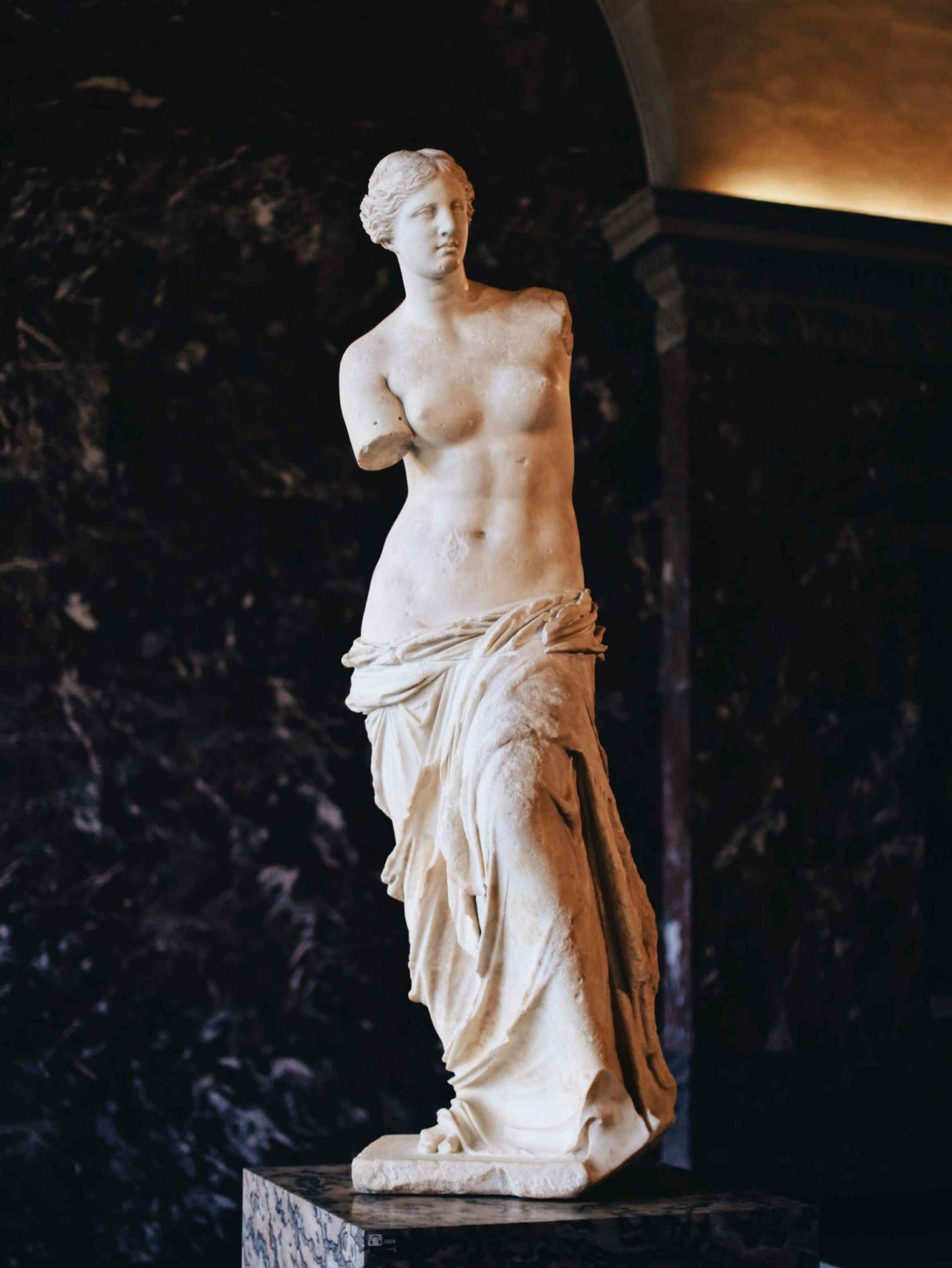 Amb les cames o amb el cap. Venus de Milo