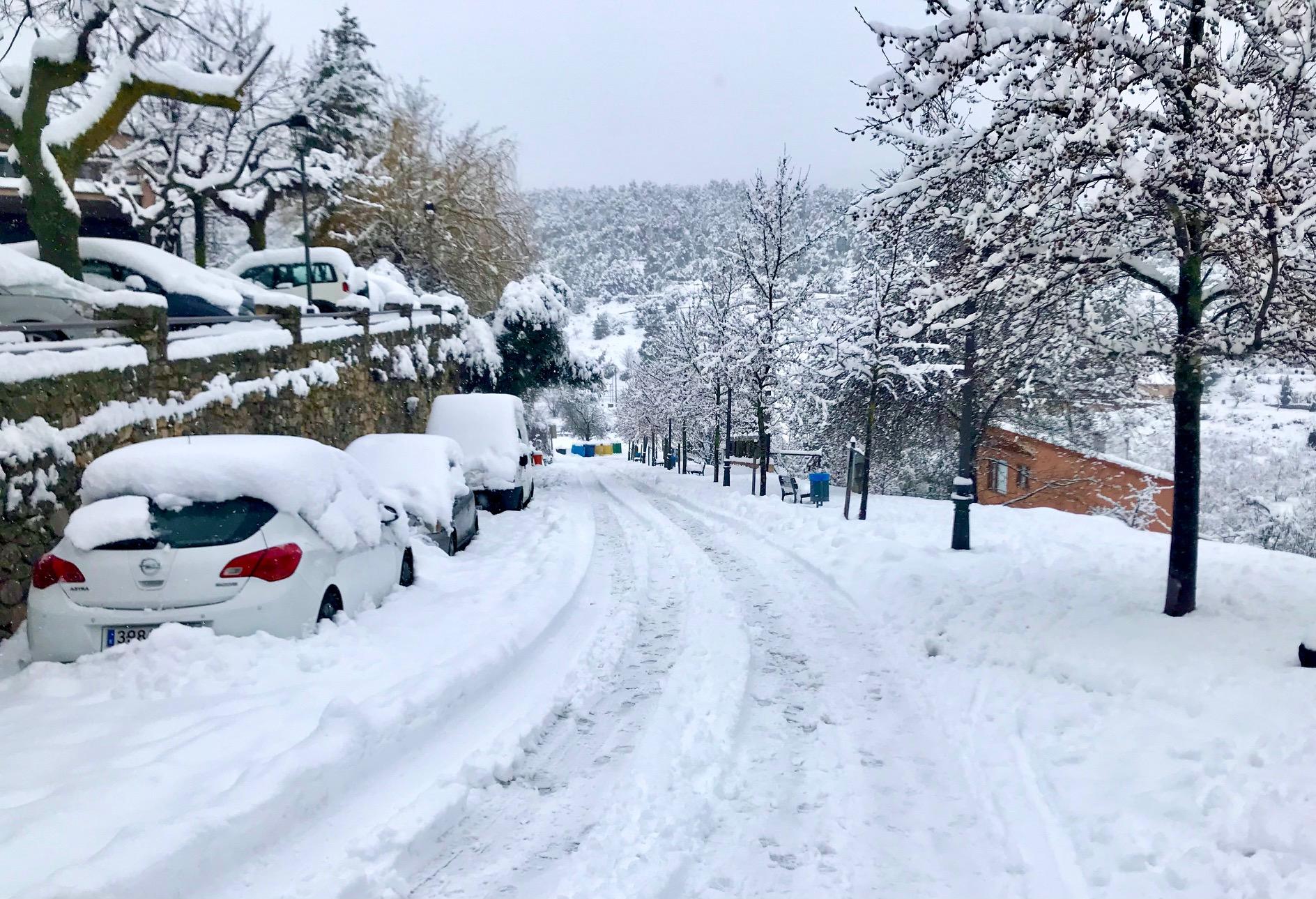 Benvingut hivern. Foto