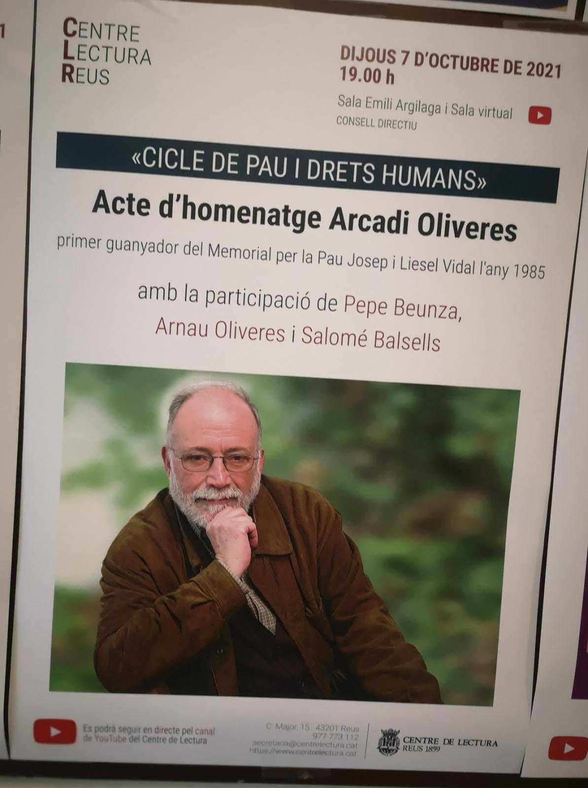 Va viure en pau i, sobretot, va morir en pau. Foto